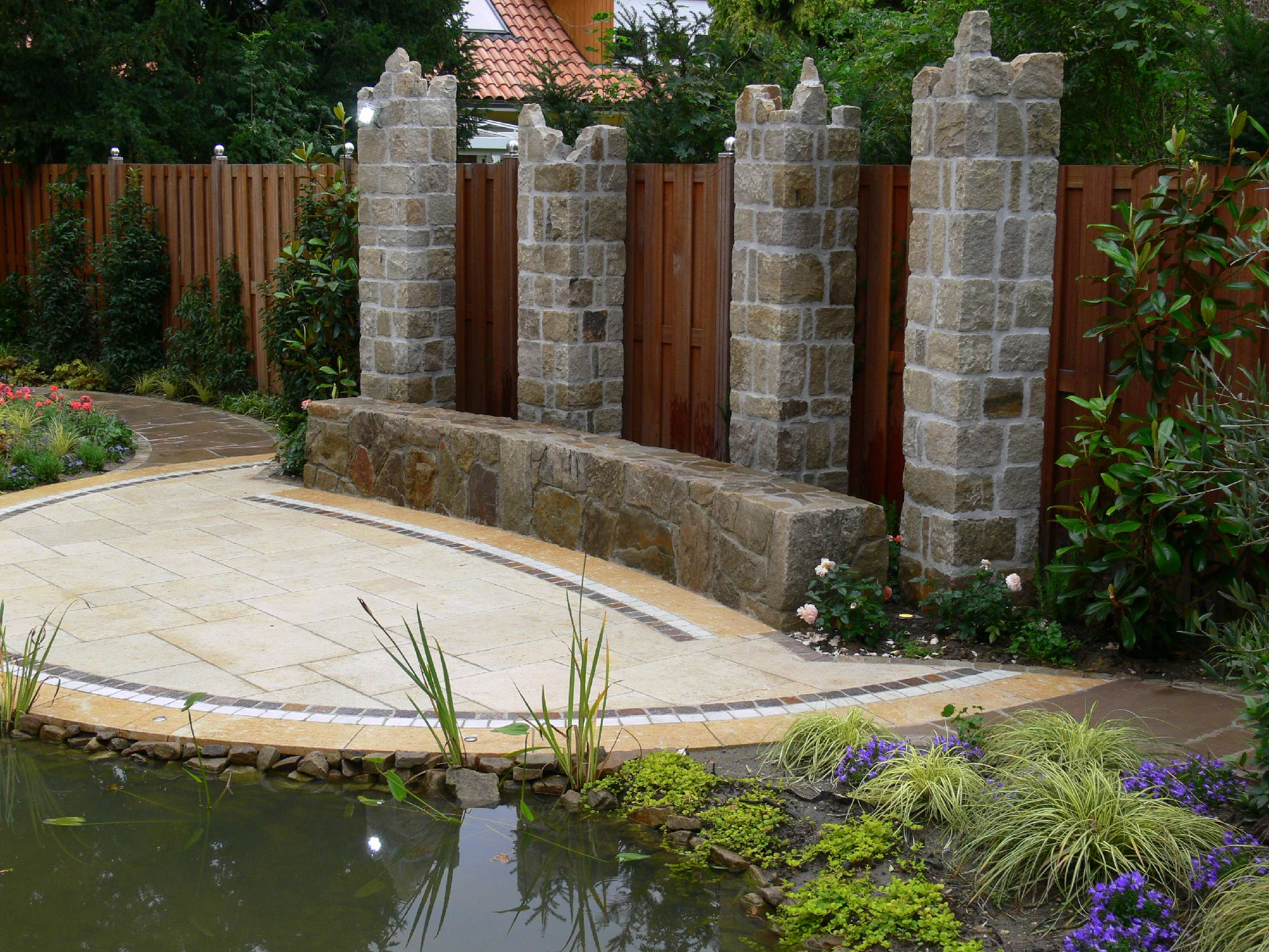Gartendesign rybka for Gartendesign